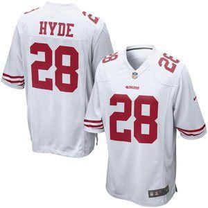 Mens San Francisco 49ers Hyde Nike Jersey